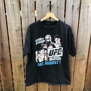 Vintage UFC Silva Men's Boxing Shirt